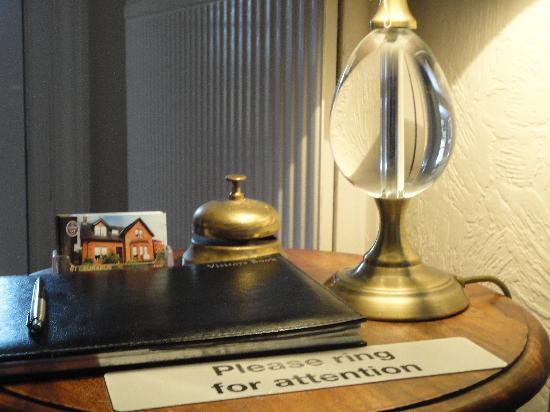 St Leonards Guest house : Reception