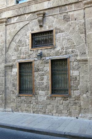 Akkotel: Side wall of hotel