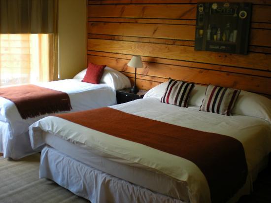 Hosteria El Coiron : habitacion