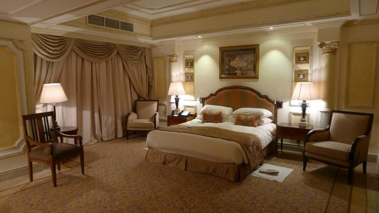 InterContinental Dar Al Tawhid : The lavish bed