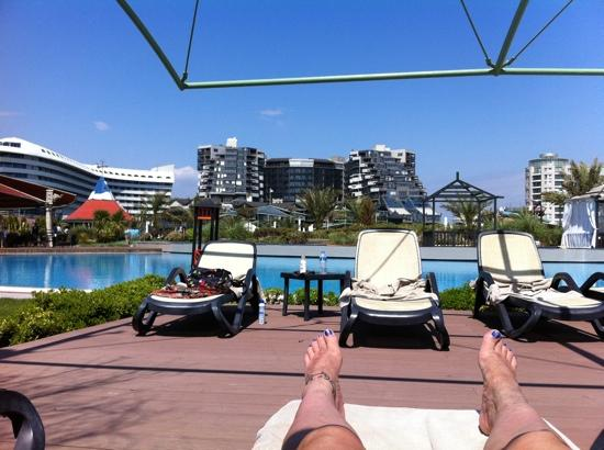Limak Lara De Luxe Hotel&Resort: view from one of the pools