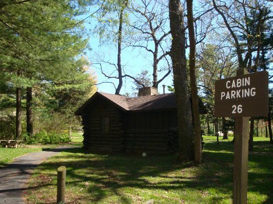 White Pines Inn : Sweetheart Cabin