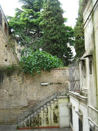 Della Sapienza 8: view from the room