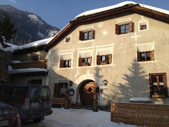 Hotel Restorant Crusch Alba Lavin: Hotel Restorant Crusch Alba, Lavin, Switzerland