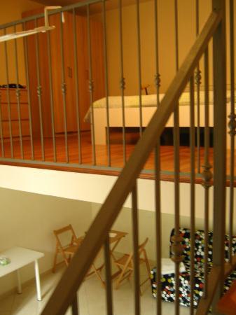 Della Sapienza 8: the bedroom floor