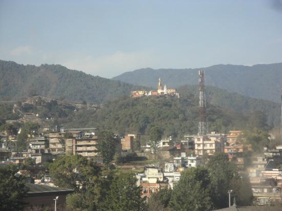 Grand Hotel Kathmandu: Vista desde habitación