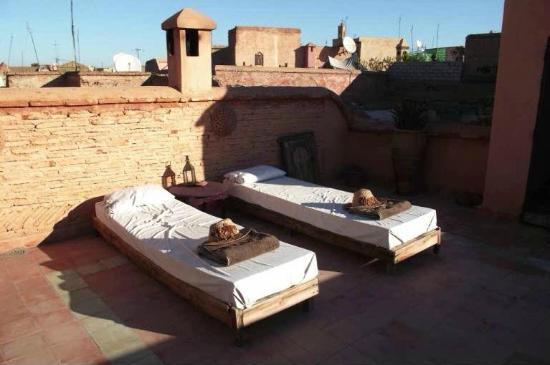 Riad Zahr : Terrasse