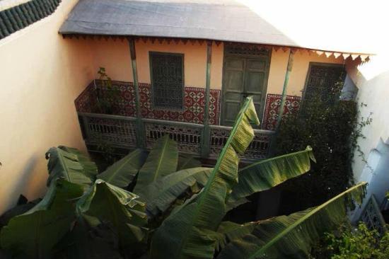 Riad Zahr: Riad vu de la terrasse