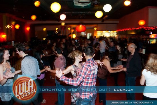 Lula Lounge: Dancing to Great Live Bands & Djs