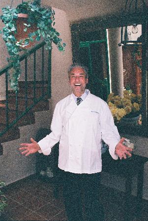 El Patio de Lajares: dueño y jefe de cocina Rainer Feuchter