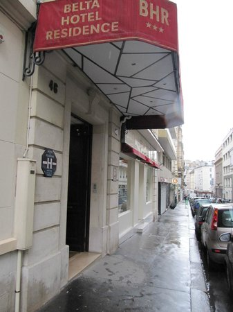 Belta Hotel Residence : Entrance