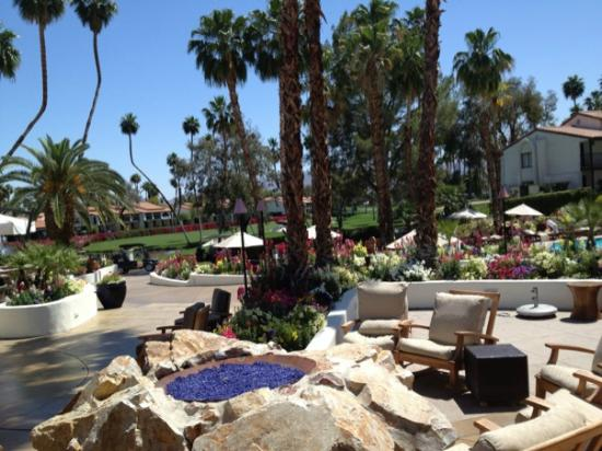 Omni Rancho Las Palmas Resort & Spa: View from BluEmber Restaurant