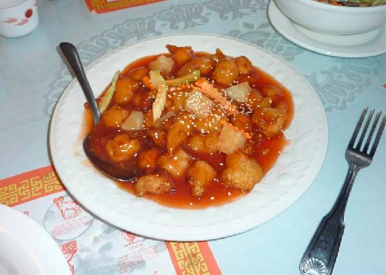 China Dragon: Sweet and Sour Chicken