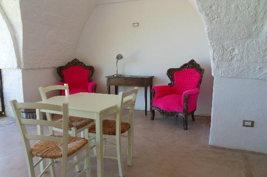Masseria Palombara Grande : sala colazione