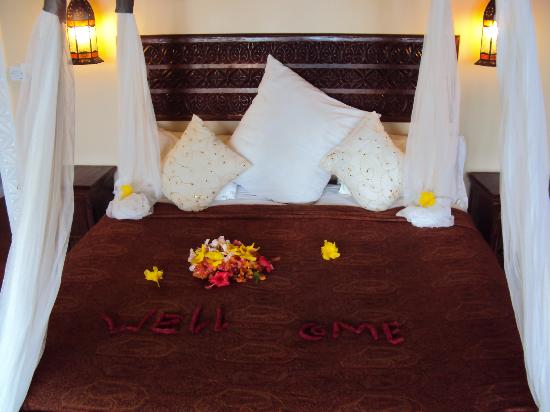 Azanzi Beach Hotel: bedroom