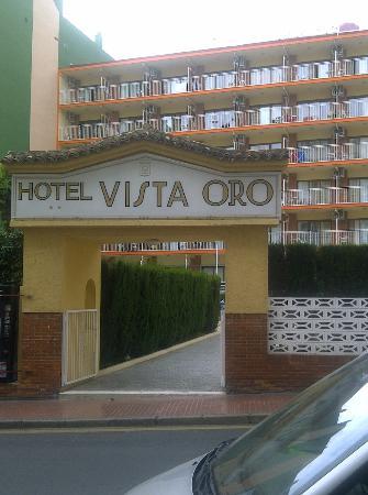Port Vista Oro: hotel front