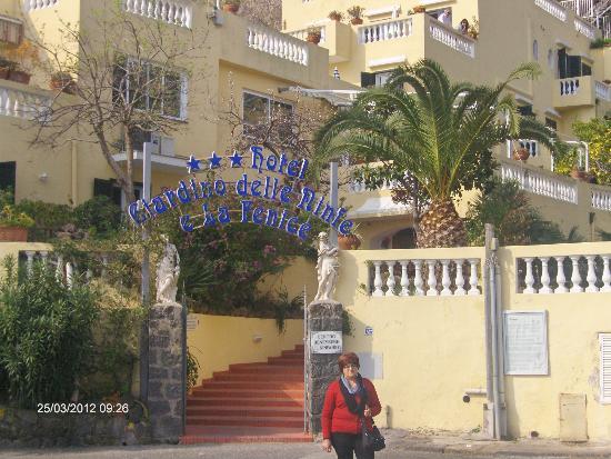Ingresso hotel picture of hotel giardino delle ninfe e - Hotel giardino delle ninfe e la fenice ...