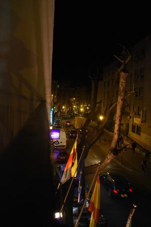 Hotel Los Jeronimos: Vue depuis le balcon