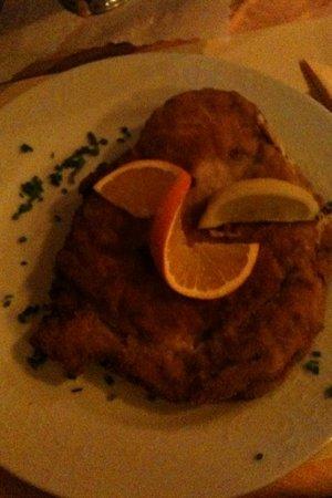 Restaurant Meisterklause: Teller Schnitzel