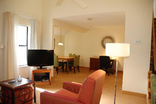 Residence Inn San Francisco Airport/San Mateo: Penthouse Suite
