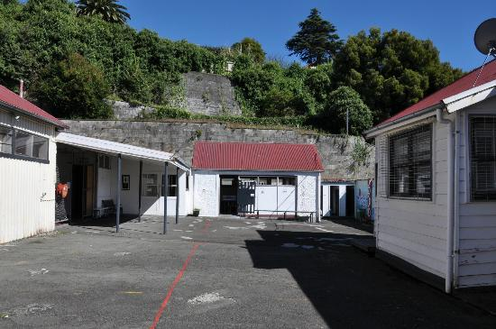 Napier Prison Tours : Main courtyard of the prison