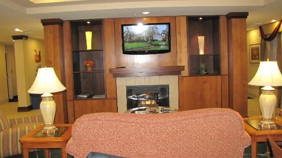 Fairfield Inn & Suites Burlington : lobby