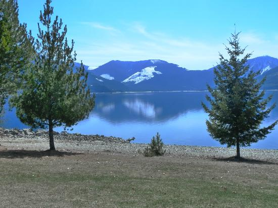 Cutrite Meats & Deli: View of Arrow Lake behind the deli