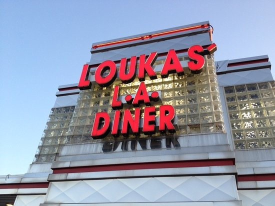 Loukas' Last American Diner: on Rt 22 East, across from Colonial Motors