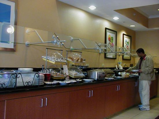 Residence Inn by Marriott Boston Westborough : Breakfast