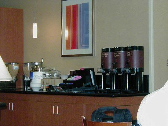 Residence Inn Boston Westborough : Breakfast - Coffee plus