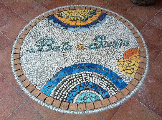 Bella-Sicilia Sicilian Cooking Lesson: Mosaici モザイク画 entrance