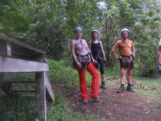 ATEC - Talamancan Association of Ecotourism and Conservation Day Tours: zipline group