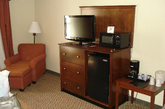 Holiday Inn Express Breaux Bridge (Lafayette Area) : Corner of the room