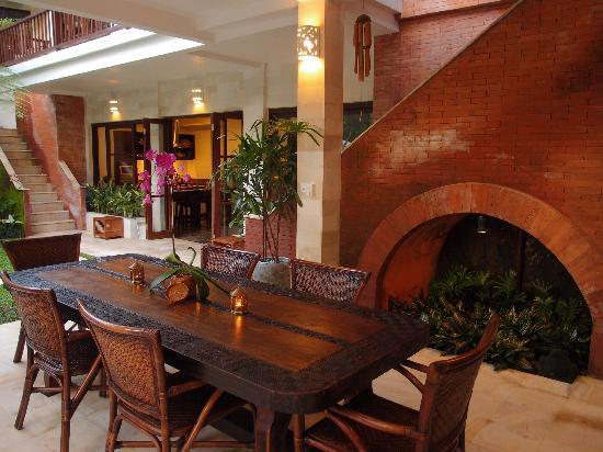 Villa Saraswati: Dining Pavilion