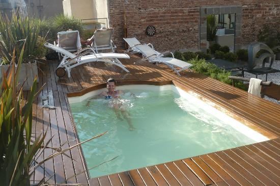 Azur Real Hotel Boutique: Terraço & Picina