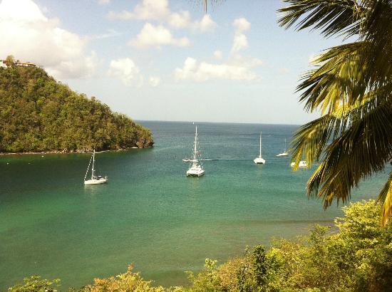 Hurricane Hole Bar : Marigot Bay