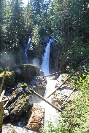 Alpenrose Bed and Breakfast: Begbie Falls hike Revelstoke BC