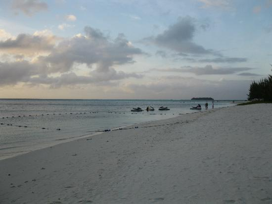 Fiesta Resort & Spa Saipan: Beautiful beach....but move those Jet ski rentals further away