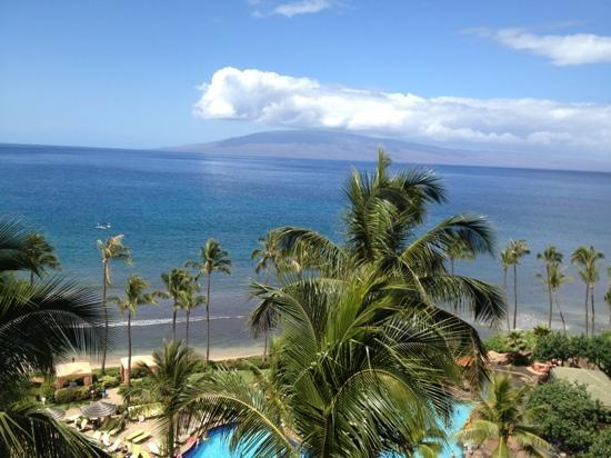 The Hale Pau Hana: view from room in Hyatt Maui