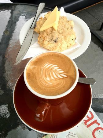 Cafe1874: Cafe 1874 - nice baking and flat white