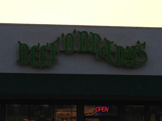Beef O Brady's: The Sign