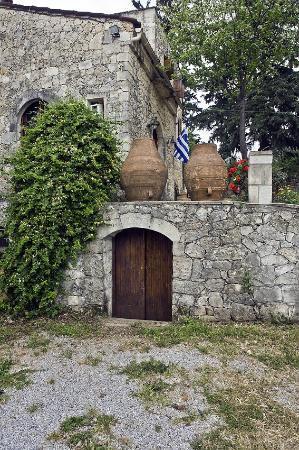 Alikampos, Grecja: Front yard!