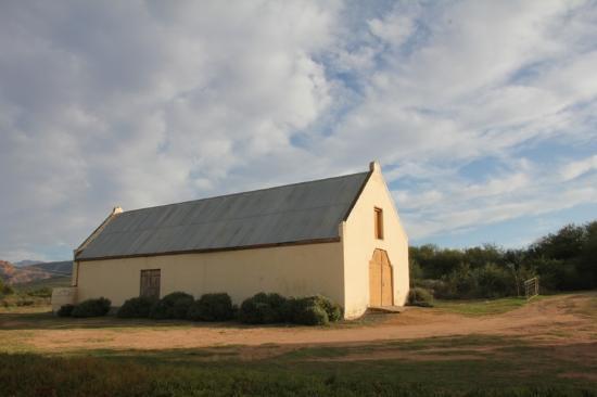 Rietfontein Ostrich Palace: a barn