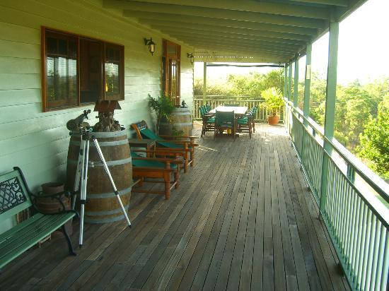 Amamoor Lodge: Deck
