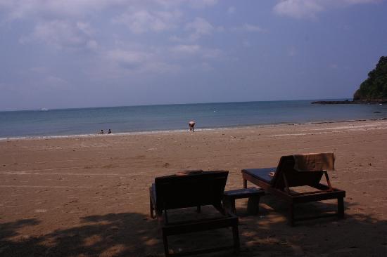 Anda Lanta Resort: beach