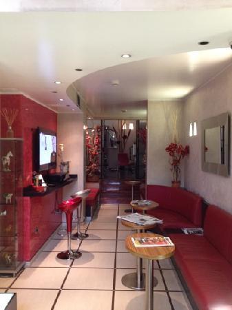 Hotel Susa: zona lounge e bar