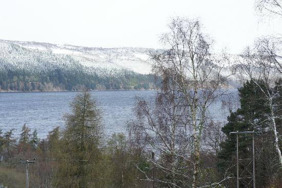 Lodges on Loch Ness: View from Fairview Lodge (east)