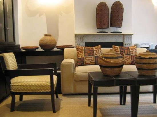 An African Villa: Reception Area