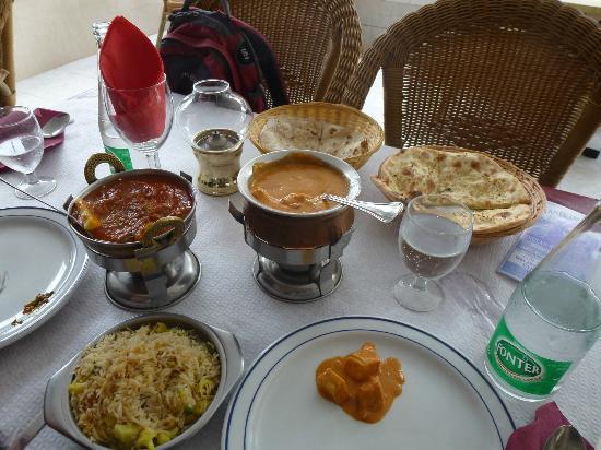 Taste of India: Essen