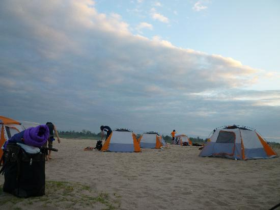 Pakse, لاوس: Camping, Don Daeng Champasak